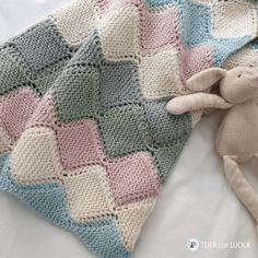 Crochet Eyes, Crochet Home, Crochet Gifts, Knit Crochet, Knitting Blogs, Knitting Stitches, Knitted Baby Blankets, Baby Blanket Crochet, Afghan Crochet Patterns