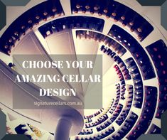 Signature Cellars can custom build your cellar offering a totally unique and one off design to suit your needs or to your architects requirements.