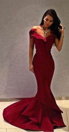 mermaid party dresses, long prom dresses, elegant evening dresses MT20187840