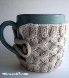 Cute mug cozy