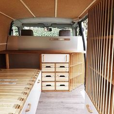Finally done with the casing ! It feels great not to see the wheels from the inside anymore.. a bit of white and the van seems brighter than ever No hinges or drawers, it is all magnetic #radiusetulna #travel #europe #vanlife #vanconversion #vanlifeideas #vanlifediaries #ontheroad #diy #projectvanlife #vanlifers #tinyhouseproject #casing #almostdone #cork #coolobject
