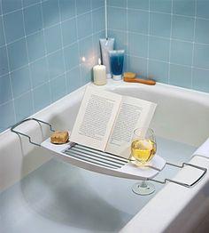 Para relajarse en la bañera