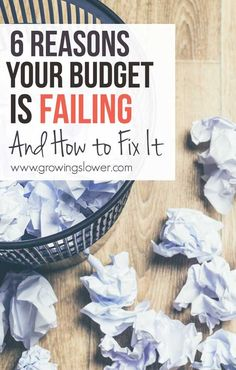 Do you make these big budgeting mistakes? If you find yourself going over budget every month, I can almost guarantee you are. But there's good news! Each of these budget blunders is VERY easy to fix, and I'll show you how. Before you know it, you'll be able to stick to a budget at last!
