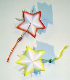 MAMMI MIA!: Tähtikirja DIY-ohje. Printattavat osat tähtikirjaan. Printable paper pieces for a star book.