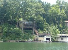 Lake Lure House Rental: Lakefront W/ Fabulous Views, Large Decks & Huge Dock For Outdoors Fun! | HomeAway