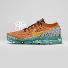 Nike Air VaporMax Atmos Safari Baskets, Basket Nike, Orange Shoes, Nike Vapor, Nike Air Vapormax, Sneaker Games, Shoe Game, Footwear, Adidas
