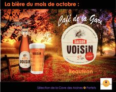 Une bière rousse idéal pour un temps d'automne!  www.cafedelagare-beautiran.com Café Restaurant, Candle Jars, Candles, Cave, Catering Business, Fall Season, Candy, Caves, Candle Sticks