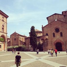 Bologna Travel Piazza Santo Stefano  #bologna #100cities #michelangelo