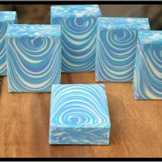 Water Ripple for Men Handmade Soap by Soaps by Sandra