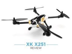 Our review of the XK X251 Quad Copter