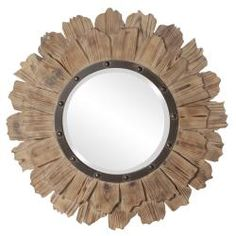 @Overstock - This Hawthorne mirror will add a stylish touch to your home decor. A natural wood finishes this lovely mirror.http://www.overstock.com/Home-Garden/Hawthorne-Mirror/6765731/product.html?CID=214117 $179.99