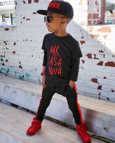 Hip Hop Fashion Rap Novelty Cotton T Shirt Personality White Tee for Toddler Kids Boys Girls