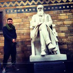 تنديس داروين.لندن