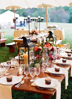 lantern centerpieces | Jen Fariello #wedding