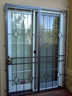 Iron Window Grill, Grill Gate Design, Window Grill Design Modern, Steel Gate Design, Front Gate Design, House Gate Design, Window Design, Sliding Door Design, Sliding Windows