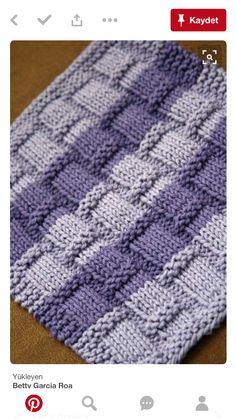 Knitting pattern-playing with bamboo dishcloth pattern etsy Knitted Washcloth Patterns, Knitted Washcloths, Dishcloth Knitting Patterns, Knit Dishcloth, Loom Knitting, Knitting Stitches, Free Knitting, Baby Knitting, Crochet Patterns
