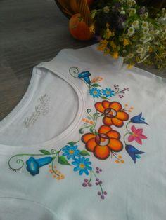 Folk & flower. Ručné maľovaný textil. byzuzy@gmail.com