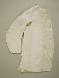 Waistcoat 1740 http://www.metmuseum.org/collection/the-collection-online/search/90105?rpp=90&pg=2&rndkey=20150107&ao=on&ft=*&when=A.D.+1600-1800&where=United+Kingdom&what=Costume&pos=105