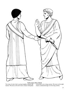 Byzantine Fashions 19 / Byzantine Fashions / Kids printables coloring pages