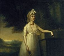 """ca 1800 Lady Nelson, Lord Nelson's wife. While on duty in the Caribbean Nelson met Frances """"Fanny"""" Nisbet, a young widow from a Nevis West Indies plantation family. Nelson and Nisbet were married at Montpelier Estate on the island of Nevis on 11 March 1787, shortly before the end of his tour of duty in the Caribbean Nevis West Indies, John Nash, Web Gallery Of Art, Gothic Corset, Victorian Gothic, Gothic Lolita, Duke Of Devonshire, Baronet, 18th Century Fashion"""