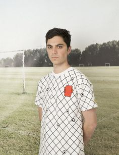 Look what happens when creative minds have a shot at designing football tops...  http://www.weheart.co.uk/2014/06/13/first-eleven-at-kk-outlet-london/