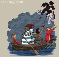 Dread Pirate Pan: teefury.com