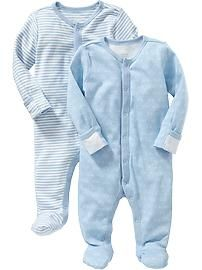Patterned One-Piece 2-Packs for Baby - $23 old navy