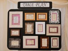 This would be PERFECT for me since I am using frames in my centerpieces!