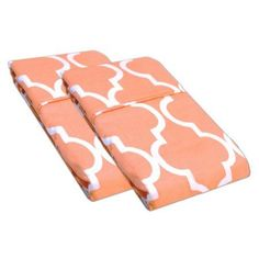 Simple Luxury Pillowcase (Set of 2), Orange