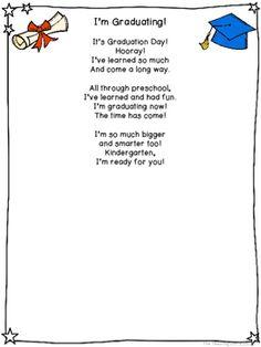 1cf61e52fa2de5200553cf2ee2cbdca6  preschool poems poems for kindergarten graduation - Kindergarten Graduation Poem