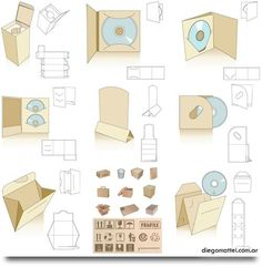 Image result for cd packaging template … | Pinterest