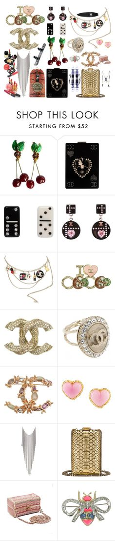 """""""C H A N E L"""" by didesi ❤ liked on Polyvore featuring Chanel, Marc Jacobs and Karl Lagerfeld"""