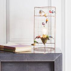 Volières Mini Bird Cage Lamp - View All Lighting - Lighting - Lighting & Mirrors