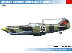 http://www.wardrawings.be/WW2/Files/2-Airplanes/Allies/2-USSR/01-Fighters/LaGG-3/LaGG-3(1-3-Srs).htm