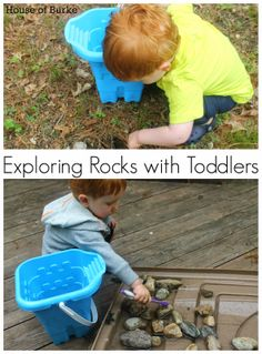 Exploring Rocks with Toddlers - House of Burke