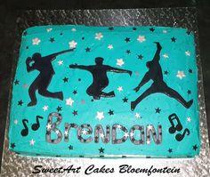 Hip Hop Cake (Bloemfontein cake)