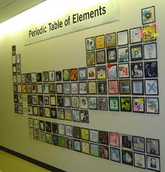 chemistry decorations for classroom | Artistic Periodic Table Teaches, Entertains