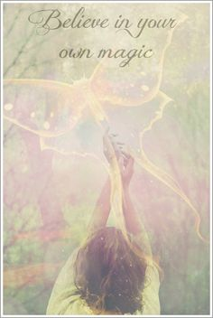 Believe in your own Magick. Believe In Magic, Believe In You, Affirmations, Visualisation, Luther, Law Of Attraction, Inspire Me, Decir No, Positive Quotes