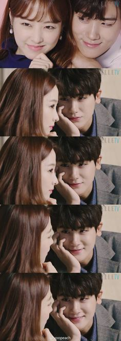 Get you a guy who stares at you like min-hyuk (park hyung shin) stares at bong soon (park bo young)! Park Hyung Sik, Strong Girls, Strong Women, Stay Strong, Asian Actors, Korean Actors, Strong Woman Do Bong Soon, K Drama, Korean Drama Tv