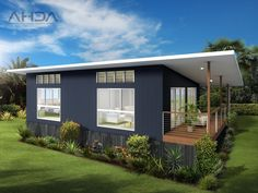 - Architectural House Designs Australia bedroom Granny pods backyard c. - Tracy - - Architectural House Designs Australia bedroom Granny pods backyard c. Best Small House Designs, Tiny House Design, Cottage Porch, Backyard Cottage, Cottage Floor Plans, Small House Plans, Granny Pods, Granny Granny, Granny Flat Plans