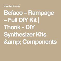 Befaco – Rampage – Full DIY Kit | Thonk - DIY Synthesizer Kits & Components