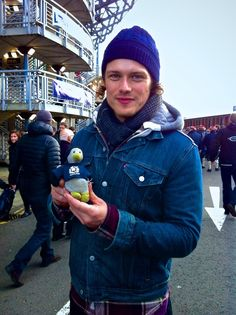 Sam and Baby the Penguin