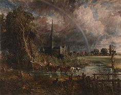 John Constable | Salisbury Cathedral from the Meadows | L47 | The National Gallery, London