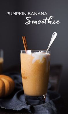 Vitamix Smoothie Recipe | Pumpkin Banana Smoothie - Pumpkin is a healthy addition to any smoothie recipe