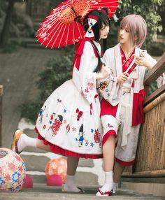 Mirror Flower Wa Lolita Jumper Dress #Leftovers