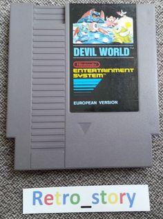 Nintendo NES Devil World PAL