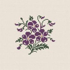 Veilchen - Olde Worlde Embroidery