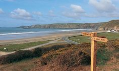Newgale, Pembrokeshire   Newgale on the Pembrokeshire Coast in Wales, which is fast becoming as ...