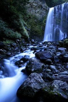 Zengoro Falls, Nagano, Japan
