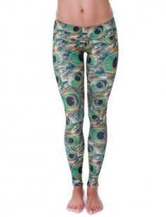 e80944c948 Onzie Womens Peacock Yoga Legging XS *** Continue to the product at the  image link.